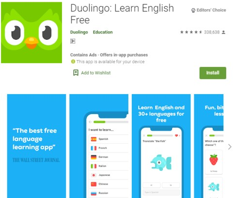 BEST MOBILE APPS TO LEARN ENGLISH