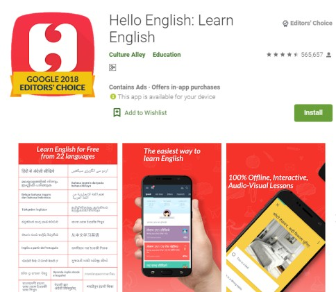 BEST MOBILE APPLICATIONS TO LEARN ENGLISH